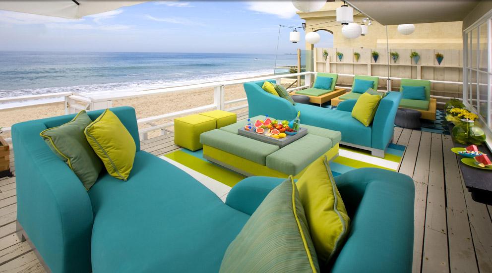 Merveilleux Upholstered Aluminum Outdoor Furniture   DODAZ™ Al Fresco